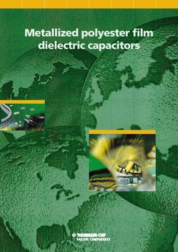 AVX/TPC Metallized Polyester Film Dielectric Capacitors Catalog