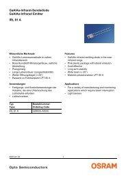 IRL 81 A GaAlAs-Infrarot-Sendediode GaAlAs-Infrared Emitter