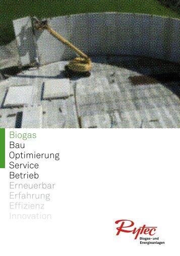 Flyer Biogas - Rytec