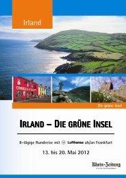 IRLAND – DIE GRÜNE INSEL - rz-Leserreisen