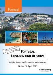 RZ_Lissabon & Algarve_18.04.-25.04.2013_Folder - rz-Leserreisen