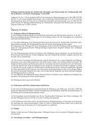 Prüfungsverfahrensordnung des Fachbereichs Informatik und ...