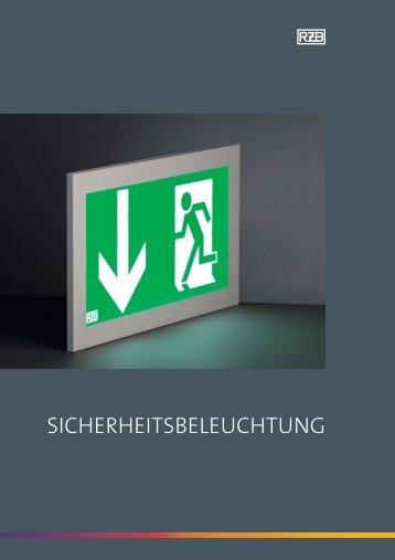 SICHERHEITSBELEUCHTUNG - RZB