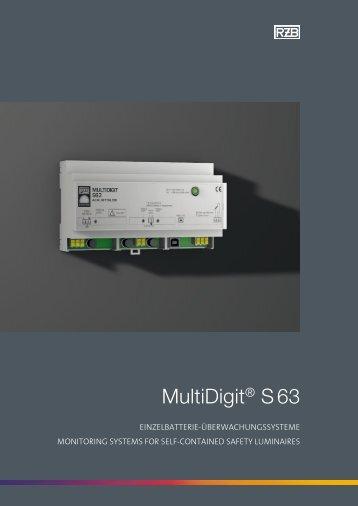 MultiDigit® S 63 - RZB