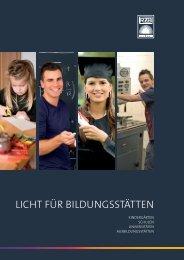 LICHT FÜR BILDUNGSSTÄTTEN - RZB