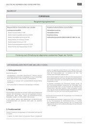 (M)LAR: (Muster) Leitungsanlagenrichtlinie - RZB