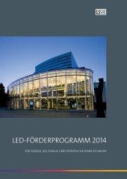LED-Förderprogramm 2014 in sozialen, kulturellen und ... - RZB