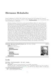 Hermann Helmholtz - RZ User