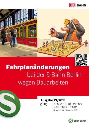 19.07.2013, ca. 769 KB - S-Bahn Berlin GmbH