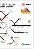 Fahrplanänderungen bei der S-Bahn Berlin wegen Bauarbeiten - Seite 3