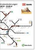 Fahrplanänderungen bei der S-Bahn Berlin wegen Bauarbeiten - Page 3