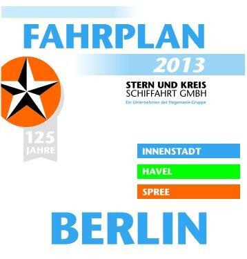 Der Fahrplan 2013 - S-Bahn Berlin GmbH