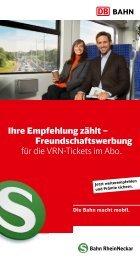 Ihre Empfehlung zählt – Freundschaftswerbung für die ... - Bahn.de