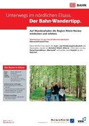 23. Bienwald Kandel - S-Bahn RheinNeckar