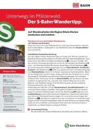 """Im Zeichen des Drachen"""" (PDF, 466KB) - S-Bahn RheinNeckar"""