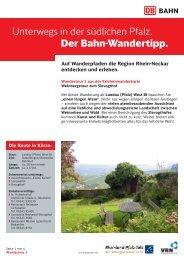 2. Weinberg Slevogthof - S-Bahn RheinNeckar