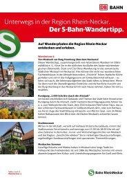 4. Von Mosbach zur Burg Hornberg über dem Neckartal - S-Bahn ...