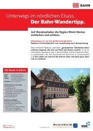 31. Rad Lauterbourg Wissembourg - S-Bahn RheinNeckar