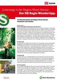 5. Großer Westwall-Rundweg durch den Bienwald - S-Bahn ...