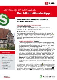 """Der Limes und die Römer"""" (PDF, 373KB) - S-Bahn RheinNeckar"""
