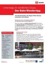25. Wissembourg Bad Bergzabern - S-Bahn RheinNeckar
