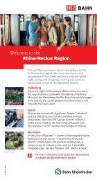 Welcome to the Rhine-Neckar Region. - Bahn.de