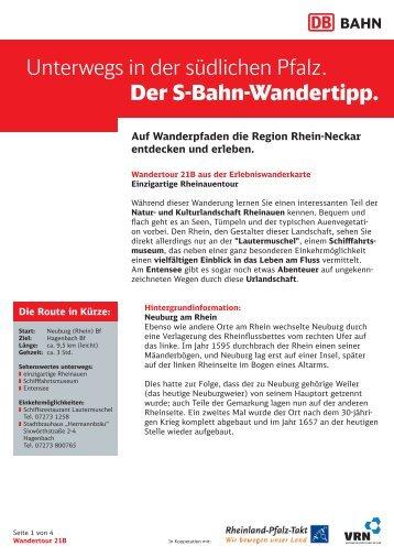 21b. Rheinauen (PDF, 382KB) - S-Bahn RheinNeckar