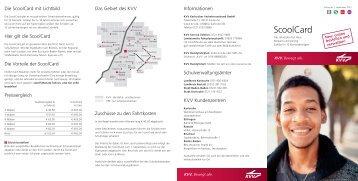ScoolCard - KVV - Karlsruher Verkehrsverbund