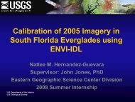 See Natlee's presentation - GERS Laboratory at UPRM