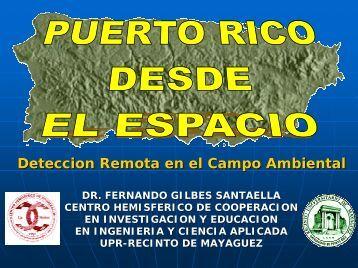 Deteccion Remota en el Campo Ambiental
