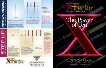 X Factor files from Clinical Res dental Canada - Health Mantra