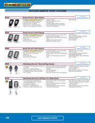 keyless remote start systems