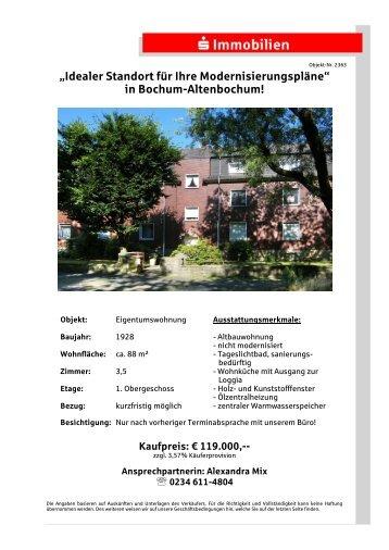 Idealer Standort für Ihre Modernisierungspläne - S-Immobiliendienst ...