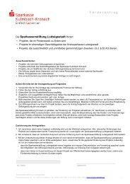 Jetzt Kontakt aufnehmen - Sparkasse Kulmbach-Kronach