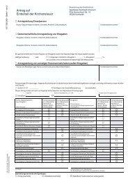 Antrag auf Einbehalt der Kirchensteuer - Sparkasse Kulmbach ...