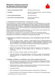Öffentliches Verfahrensverzeichnis der Sparkasse Kulmbach ...