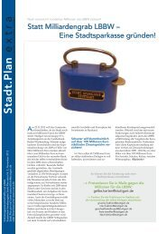 Stadt.Plan Extra Nr. 2|2012 - Stuttgart