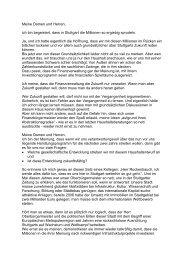 Die Haushaltsrede als PDF-Datei [42 KB] - Stuttgart Ökologisch Sozial
