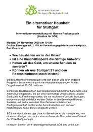 Einladung [PDF] - Stuttgart Ökologisch Sozial