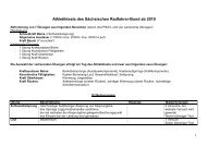 Athletik Test - Sächsischer Radfahrer-Bund eV
