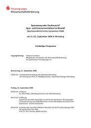 s Finanzgruppe Wissenschaftsförderung - Sparkassen ...