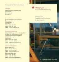 Finanzgruppe - Sparkassen-Finanzgruppe eV