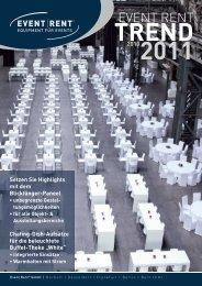 TREND 20102011 - Event Rent