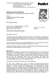 07.07.2007 - PetArt-Foundation