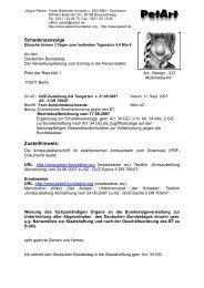 Deutschen Bundestag - PetArt-Foundation