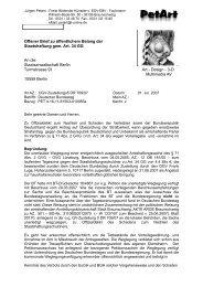 Staatsanwaltschaft Berlin - PetArt-Foundation