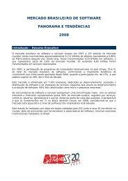 mercado brasileiro de software panorama e ... - S2Publicom