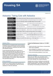 Taking care with asbestos - SA.gov.au
