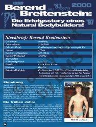 Die Erfolgsstory eines Natural Bodybuilders! - Berend Breitenstein