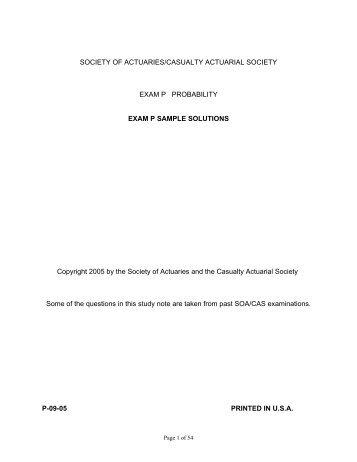 sample p l report